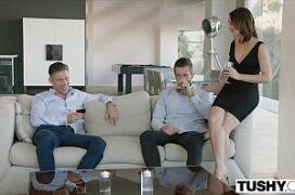 Menage brasil safadas transando com dois machos